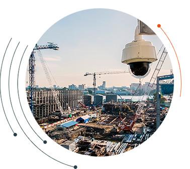segurança eletrônica para obras